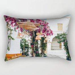 Oriental   Mykonos, Greece Rectangular Pillow