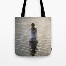 Dreaming in the water Tote Bag