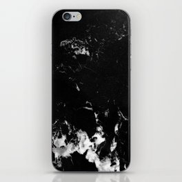 Black Marble #8 #decor #art #society6 iPhone Skin