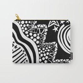 Soul Of The Dream Desert - Star Gazer (Black and White Edition) Carry-All Pouch