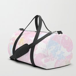 Pastel Candy Pollock marble Duffle Bag