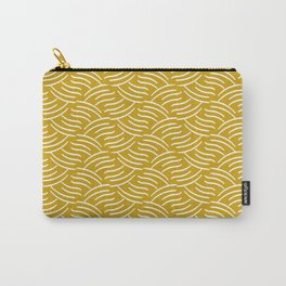 Tartini Yellow Carry-All Pouch