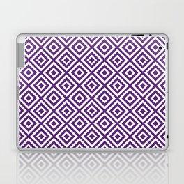 Purple Diamond Gometric Pattern Laptop & iPad Skin