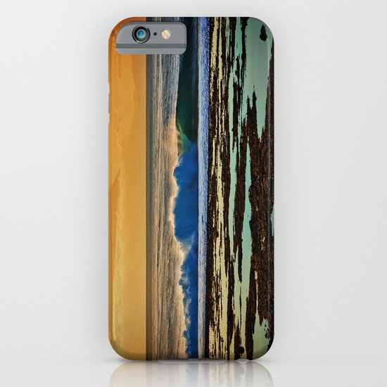 Indonesian Wave and Volcano iPhone & iPod Case