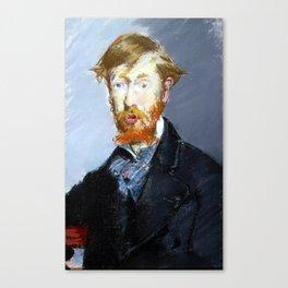 Édouard Manet George Moore Canvas Print