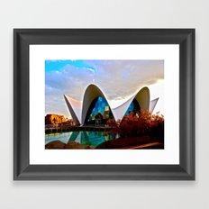 Aquarium: Valencia, Spain Framed Art Print