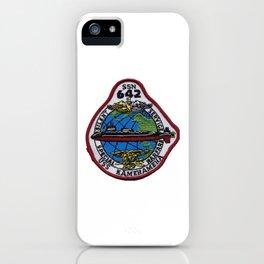 USS KAMEHAMEHA (SSN-642) PATCH iPhone Case