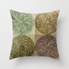 Spinnies Throw Pillow
