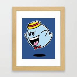 Super Cereal Ghost Framed Art Print