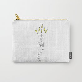 Storms In My Head Carry-All Pouch