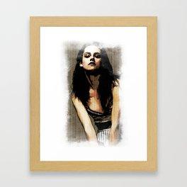 Kristen Stewart Portrait #3 Framed Art Print