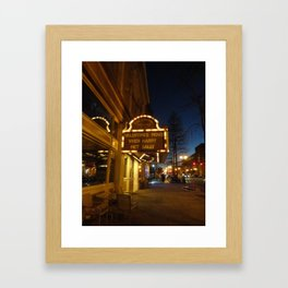 When Harry Met Sally Framed Art Print
