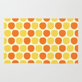 Dotty Pineapples - Singapore Tropical Fruits Series Rug