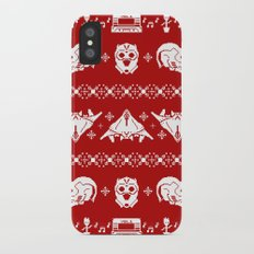 Merry Christmas A-Holes iPhone X Slim Case