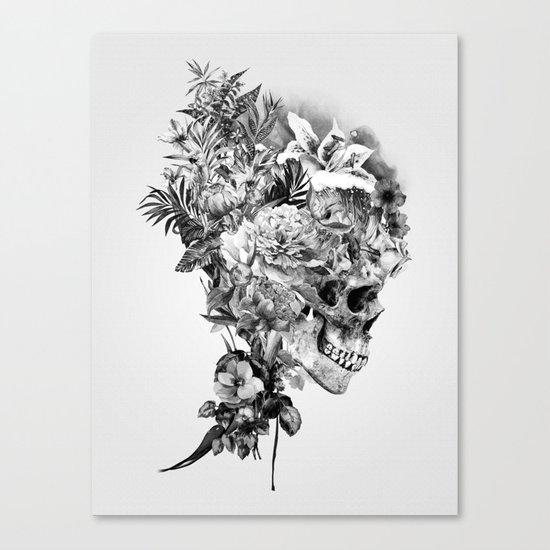Skull VI BW Canvas Print