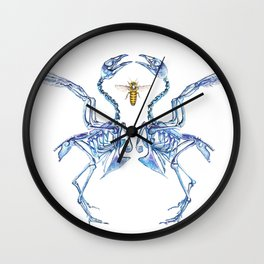 Mirrored Malady + the Visitor Wall Clock