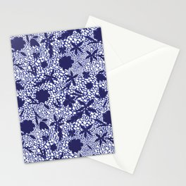 MOSAIC JELLY BEANS AND FLOWERS Stationery Cards