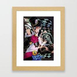 Alice in Boyland- Hatter Framed Art Print