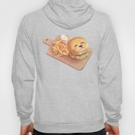 SmileDog Burger Hoody