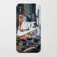 nike iPhone & iPod Cases featuring Nike by Pink Berry Patterns