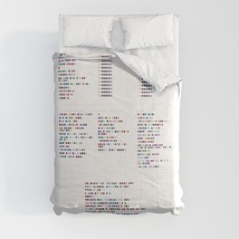 Aphex Twin Discography - Music in Colour Code Comforters