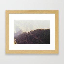 death of the wilderness. Framed Art Print