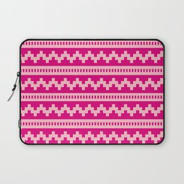 Pixel Pink Side Scroller Laptop Sleeve