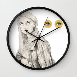 Not a Potato Wall Clock