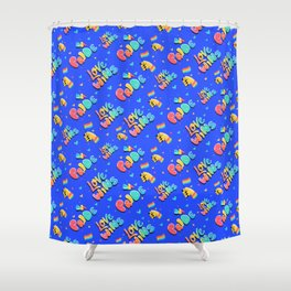 Love Wins Gay Pride LGBT Pattern Gift Shower Curtain