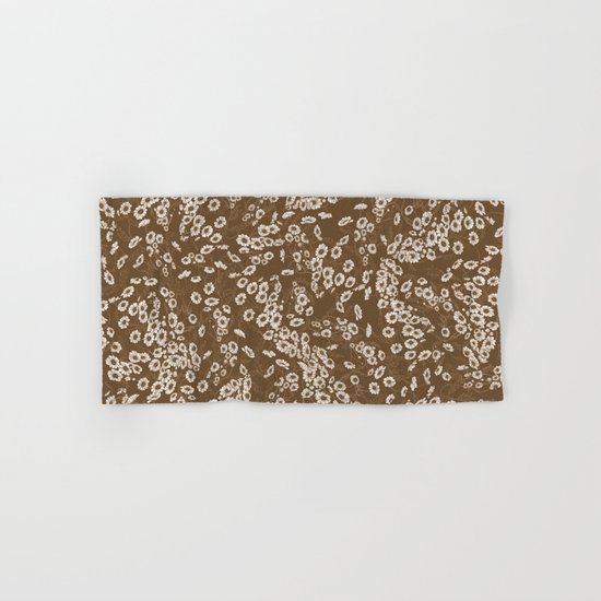 Daisy Dream Sepia Hand & Bath Towel