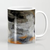 imagerybydianna Mugs featuring empty hurricane fires by Imagery by dianna