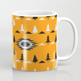 Pine trees- ethnic pattern Coffee Mug