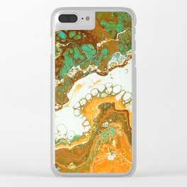 New Beginning Clear iPhone Case