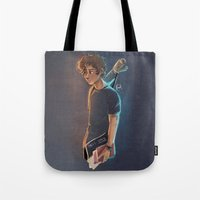 artsy Tote Bags featuring Artsy Harry by Laia™
