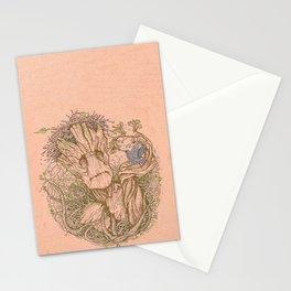 Groot Fan Art Stationery Cards
