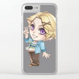 Mystic Messenger Yoosung -chibi version- Clear iPhone Case