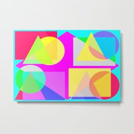 colorform Metal Print