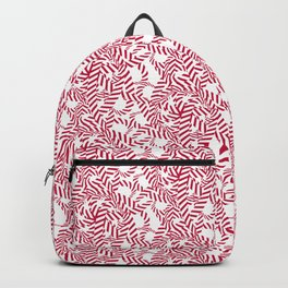 Candy cane flower pattern 7 Backpack