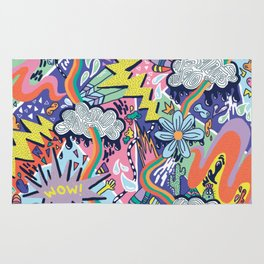 Pop Art Pattern Rug