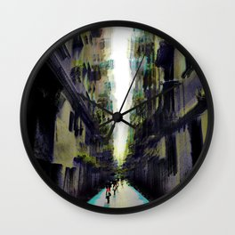 Resisting of course pleas to plunge into darkness. Wall Clock