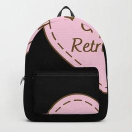I Love Golden Retrievers Simple Heart Design Backpack