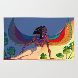 Goddess Isis Rug
