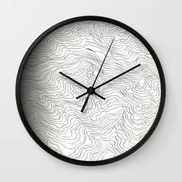 Brain Wave Wall Clock