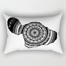 The Island of Maui [Tribal Illustration] Rectangular Pillow