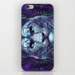 Snow Leopard Late Night iPhone Skin