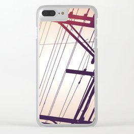 SP wires 4 Clear iPhone Case