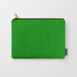 Islamic Green - solid color Carry-All Pouch