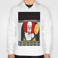 pennywise Hoodies featuring Pennywise AKA The Clown by ItalianRicanArt