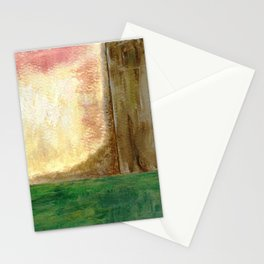 Awakening, Abstract Landscape Stationery Cards