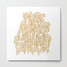 Pure Applesauce!  Metal Print